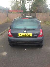 2003 Renault Clio £695