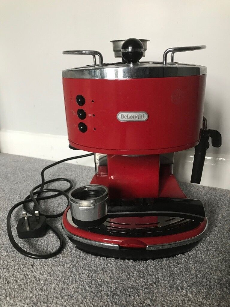 Delonghi Icona Coffee Machine Red In Crystal Palace London Gumtree