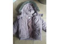 Girls jacket 12-18 months