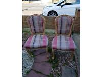Queen Ann Dining Chairs