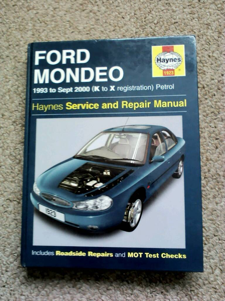 Ford Mondeo Haynes manual