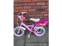Girls cupcake bike 12 inch wheels