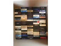 Family collection of over 500 VHS E180 and E240 tapes for clearance - TV, Films, Documenteries