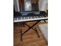 yamaha psr-175 electric/portable keyboard with stand,cable and user manual
