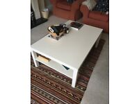 Ikea large 'Lack' Coffee table in white