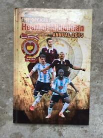 The Official Heart of Midlothian Annual 2015