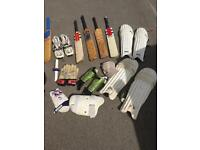 Job lot cricket stuff