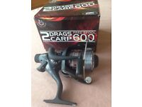 Lineaeffe 2 drags system free spool 600 fishing reel. Brand new in box.