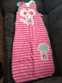 Gro bag baby sleeping bag 18-36 months 2.5 tog