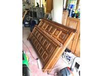 Super king size wooden bed frame