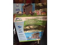 Pontec pond pump and filter brand new