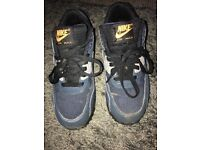 Size 6 Nike air max trainers - blue and gray
