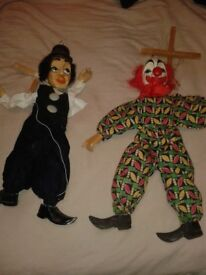 Original Stone Of Crows Wooden Hand Puppets