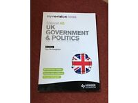 Government and Politics revision guide
