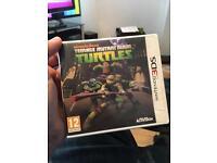 Teenage Mutant Ninja Turtles NINTENDO 3DS Game