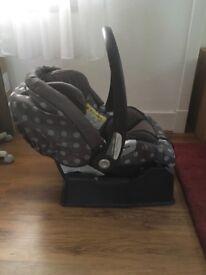 Pram/car seat set