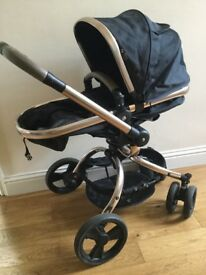 Mothercare orb rose gold travel system. Everything in photos included