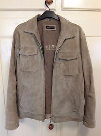 Ben Sherman Suede Harrington Jacket Large. Excellent condition