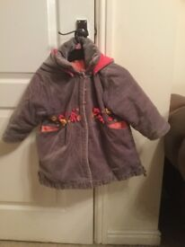 Girls coat age 2 years