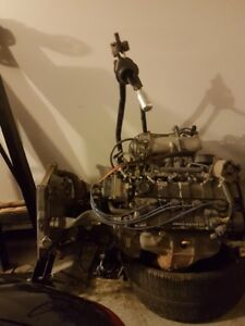 1996 Acura Integra B18B engine and transmission