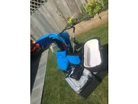 Silver cross pioneer travel system Blue, buggy board also included