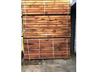 Hardwood sleepers brown