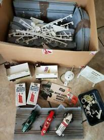 Vintage Airfix Slot Racing Cars, Accessories & Track