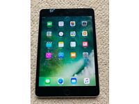 APPLE IPAD MINI 4 128GB IOS14 WIFI and CELLULAR - with charger Great condition
