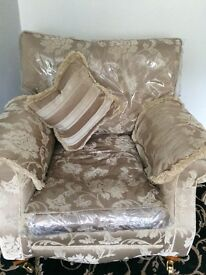 """Beautiful """" Barker & Stonehouse. Cream and beige Suite"""