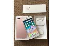 iPhone 7 Plus 256GIG Unlocked excellent condition