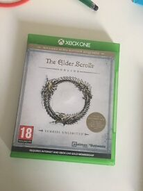 Skyrim and Elder Scrolls Online | Xbox One | Great Condition
