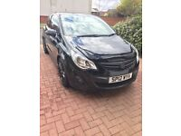 Black 1.2 Vauxhall Corsa Limited Edition 3 DR