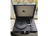 1byone briefcase turntable (black) -- £40