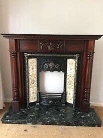 Victorian style fire surround