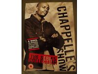 Dave Chappelle's Show The Series Collection Season 1, 2 & 3. (Region 2, plays in UK)