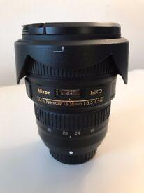 Nikon Nikkor AF 18-35mm F/3.5-4.5 AF-S Lens *excellent condition*