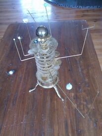 Brass Orrery with motor