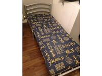 Single pull out sofa bed