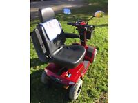 Pride Celebrity XL8 Mobility Scooter 8MPH in Brilliant Condition With Brand new Batteries ROAD LEGAL