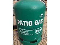 Full Calor propane gas bottle