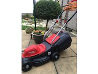 Grizzly electric lawn mower