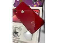 iPhone Xr 64GB/128GB (Product)Red Unlocked 🏴(No PayPal)!!
