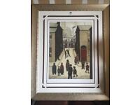 🎁 Nice Xmas gift 🎁 Limited edition Lowry Gouttelette No.1 of 95 worldwide / art / painting