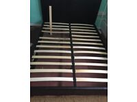 Double Bed Base with a broken slat