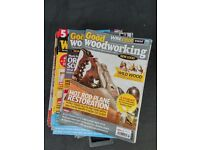 50 copies of Good Woodworking magazine - carpentry, joinery, cabinet making, wood turning