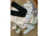 Baby bundle jackets & trousers