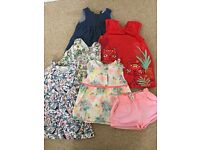 Girls summer dresses 18-24 months