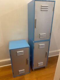 3 - piece boys locker cabinets