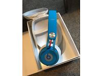 MIXR HEADPHONES BLUE BEATS IN BOX GREAT CONDITION