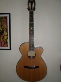 Ibanez electro acoustic guitar.